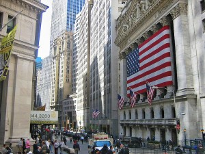Wall Street New York City
