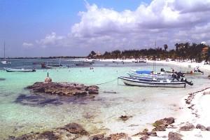 Akumal bay Mexico