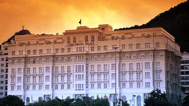 Copacabana Palace Rio de Janeiro exterior