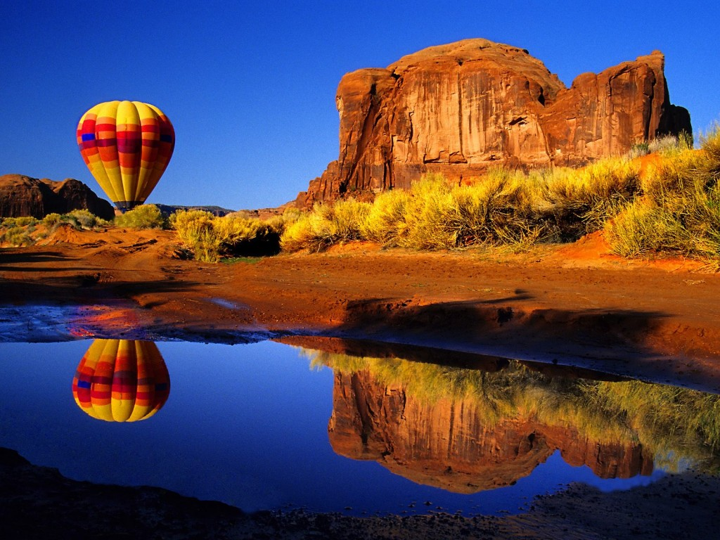 The World's Ten Best Sights from Balloon Rides