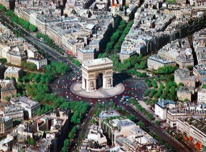 arc-de-triomphe-pariis