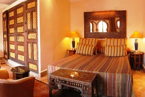 Guest Rooms at La Maison arabe Marrakech Morocco