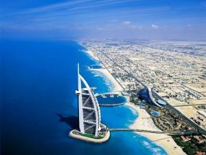 Dubai Arial view
