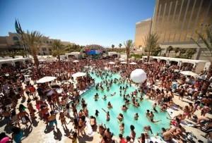 best pool parties in las vegas