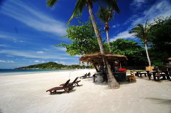 Hat Rin beach Thailand