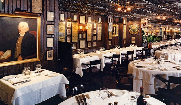 Keens steakhouse NYC