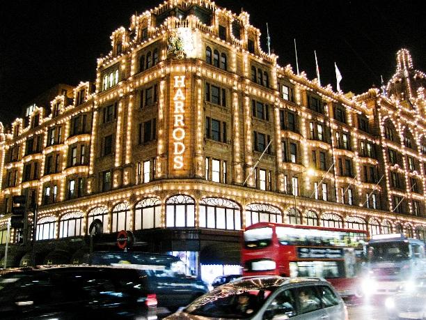 London Shopping Harrods