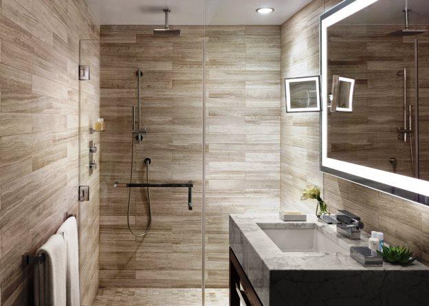 The Quin Rainshower Bathroom