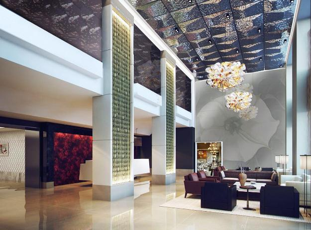 The Quin Hotel Lobby