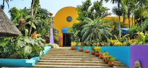Xandari Resort & Spa entrance
