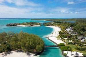 Le Touessrok, Mauritius aerial