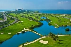 Iberostar Cancun Golf Club Aerial