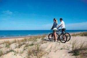 Beach biking hilton head