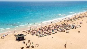 Canary island beaches