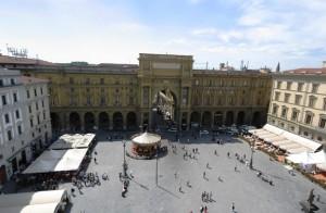 Piazza Repubblica Firenze Italy