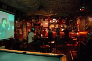 Gotham city bar