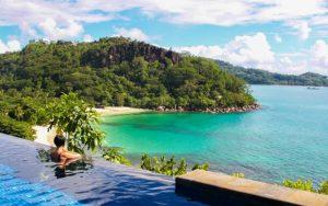 Maia Luxury Resort & Spa pool view
