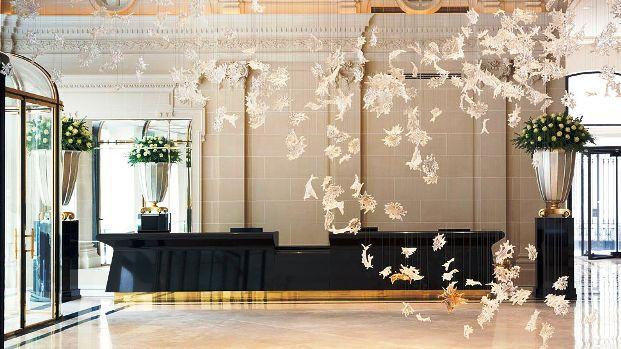 Peninsula Paris Hotel Lobby