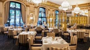 Peninsula Paris Hotel Loby Restaurant