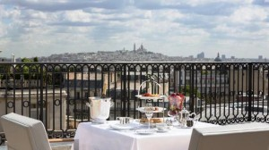 Peninsula Paris garden and terrace suite
