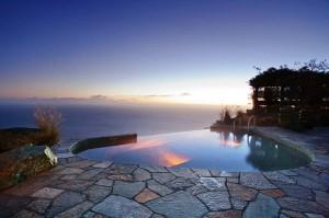 Post Ranch Inn suite pools