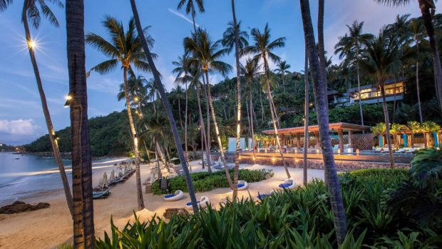 Resort Koh Samui beach views