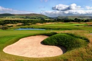 The Gleneagles Hotel golf course