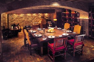 hermosa Inn wine cellar