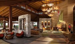 Indura Resort lobby
