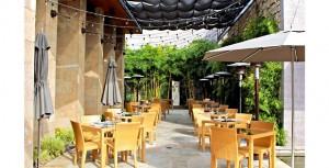 Bardessono Hotel outdoor dining