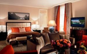 Baur au Lac Hotel guest room
