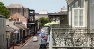 Bourbon Orleans Hotel balcony views