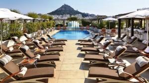 Hotel grande bretagne athens outdoor pool