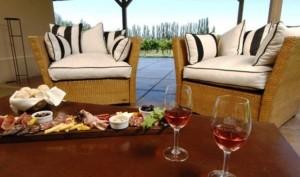 Posada Salentein food and wine
