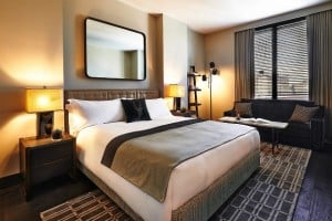 Sixty Soho Hotel guest rooms