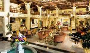 The Davenport hotel and tower lobby