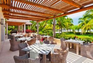 The St. Regis Punta Mita Resort outdoor dining