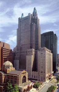 Waldorf Astoria outdoor view