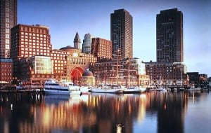 Boston Harbor Hotel waterviews