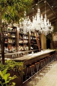 Mondrian Soho hotel bar