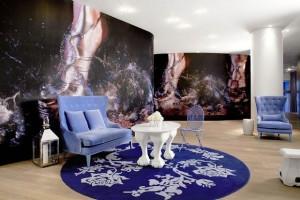 Mondrian Soho lobby sitting area