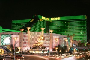MGM Grand Hotel and Casino entrance