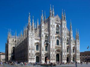 Milan Italy Cathedral Piazza del Duomo