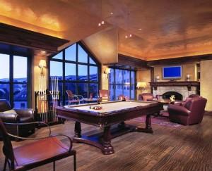 Park Hyatt Beaver Creek Resort & Spa billiard room