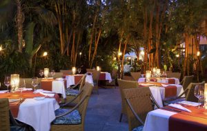 The Palms hotel dining