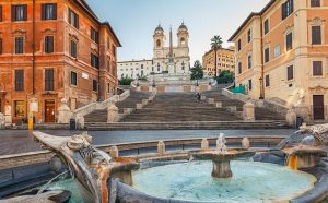 The Spanish Steps Rome Itlay