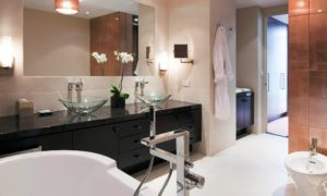 Gansevoort Park Avenue guest bath rooms