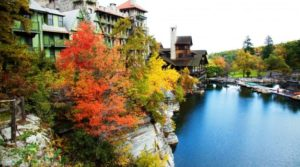 Mohonk Mountain House outdoor pool