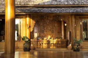 Santhiya Koh Yao Yai Resort & Spa Reception area