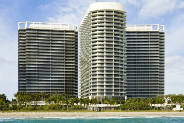 The five star Ritz-Carlton Bal Harbour Resort, Miami Beach